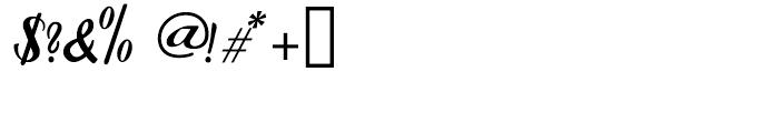 Forelle Regular Font OTHER CHARS