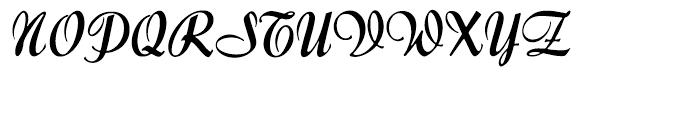 Forelle Regular Font UPPERCASE
