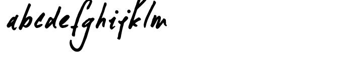Formosa Regular Font LOWERCASE