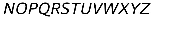 Foro Sans Italic Font UPPERCASE