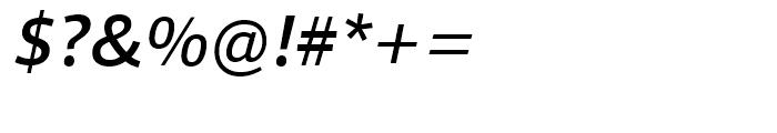 Foro Sans Medium Italic Font OTHER CHARS