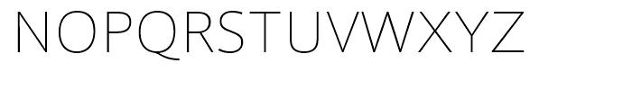 Foro Sans Thin Font UPPERCASE