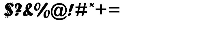 Forte Regular Font OTHER CHARS