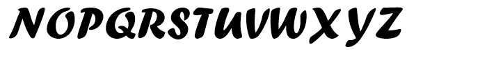 Forte Regular Font UPPERCASE