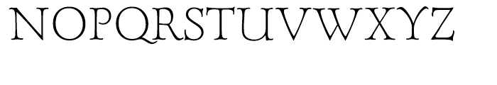Forum Titling Light with Old Style Figures Font UPPERCASE