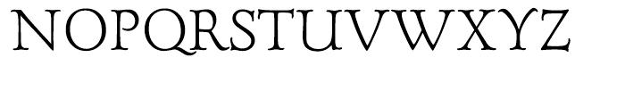 Forum Titling Medium Font UPPERCASE