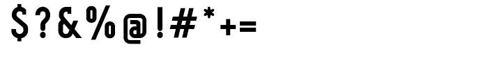 Fou Serif CN Bold Font OTHER CHARS