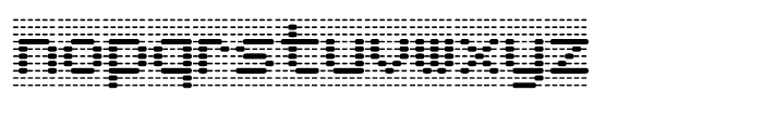 Foundry Dat Regular Font LOWERCASE