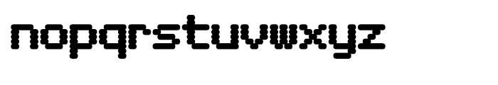 Foundry Dit Bold Font LOWERCASE