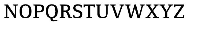 Foundry Form Serif Demi Font UPPERCASE