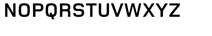 Foundry Monoline Bold Font UPPERCASE