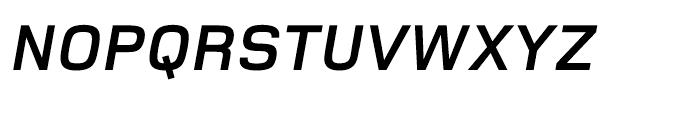 Foundry Monoline OT3 Bold Italic Font UPPERCASE