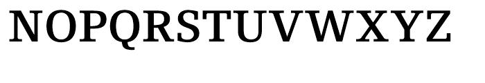 Foundry Origin Demi Font UPPERCASE