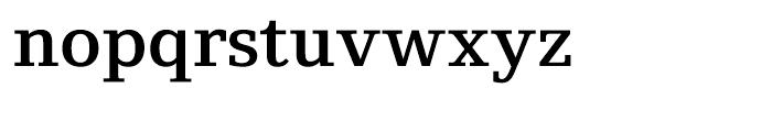 Foundry Origin Demi Font LOWERCASE
