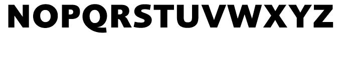 Foundry Sans Extra Bold Font UPPERCASE