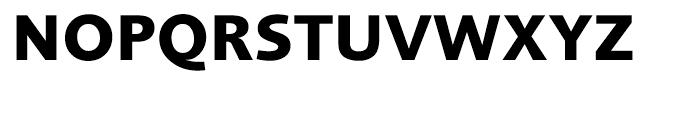 Foundry Sans OT3 Bold Font UPPERCASE