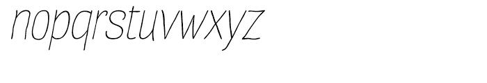 Four Seasons Italic Font LOWERCASE
