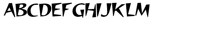 Fouras Regular Font UPPERCASE