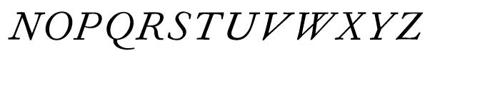Fournier Italic Font UPPERCASE