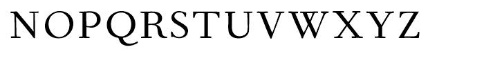 Fournier Regular Font UPPERCASE