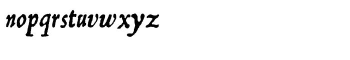 Fourteen 64 Font LOWERCASE