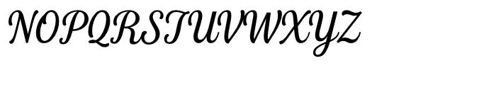 Fourth Regular Font UPPERCASE