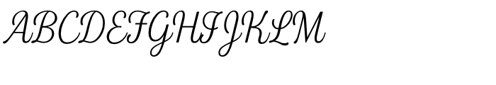 Fourth Thin Font UPPERCASE
