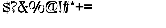Foxcroft NF Regular Font OTHER CHARS
