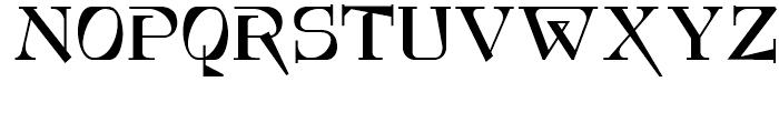 Foxcroft NF Regular Font UPPERCASE