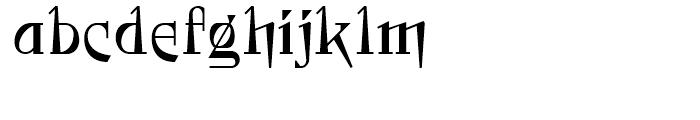 Foxcroft NF Regular Font LOWERCASE