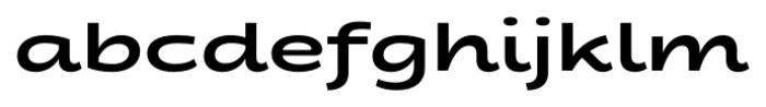 Fondue Bold Font LOWERCASE