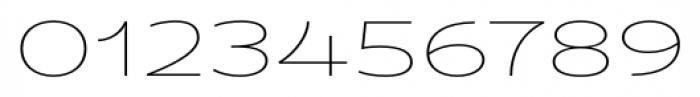 Fondue Thin Font OTHER CHARS