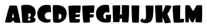 Foo Regular Font UPPERCASE