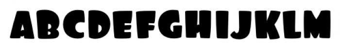 Foo Regular Font LOWERCASE
