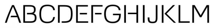 Foobar Pro Light Font UPPERCASE