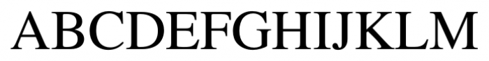 Foundation Roman Regular Font UPPERCASE