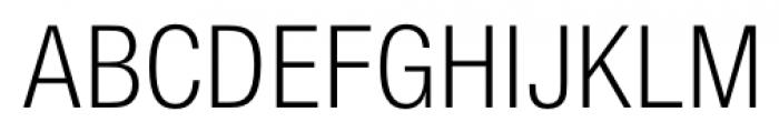 Foundation Sans Light Condensed Font UPPERCASE