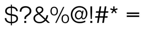 Foundation Sans Light Extended Font OTHER CHARS