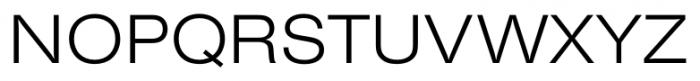 Foundation Sans Light Extended Font UPPERCASE