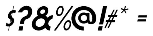 Fountain Service JNL Oblique Font OTHER CHARS