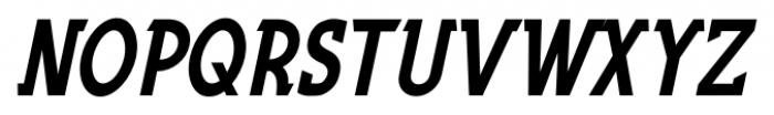 Fountain Service JNL Oblique Font UPPERCASE
