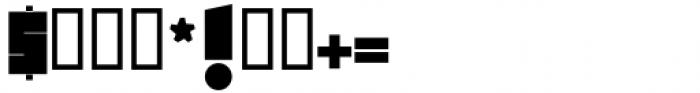 Foda Freestyle Regular Font OTHER CHARS