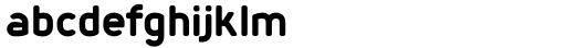 Foda Sans Black CRV Font LOWERCASE