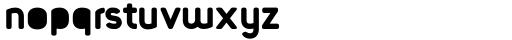 Foda Sans Black Crv Solid Font LOWERCASE