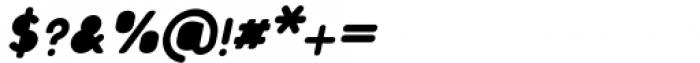 Foda Sans Black Italic Rnd Solid Font OTHER CHARS