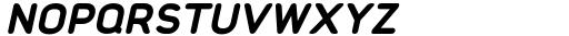 Foda Sans Black Italic Rnd Font UPPERCASE