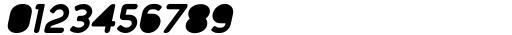 Foda Sans Black Oblique Rnd Solid Font OTHER CHARS