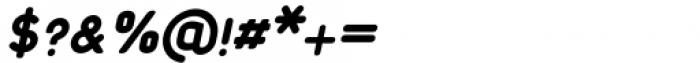 Foda Sans Black Oblique Rnd Font OTHER CHARS