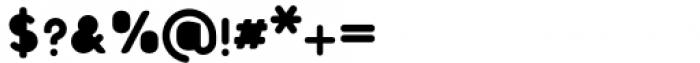 Foda Sans Black Rnd Solid Font OTHER CHARS
