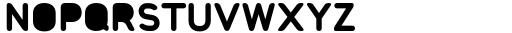 Foda Sans Black Rnd Solid Font UPPERCASE